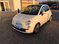 Fiat 500 1.2 Lounge Start Stop, £30 A Year Road Tax, Bluetooth, 12 Month Mot, 3 Month Warranty