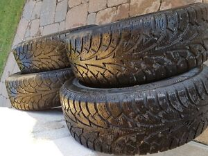 WINTER TIRES AND RIMS  205/55/16 West Island Greater Montréal image 4