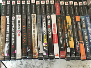 Playstation 2 Games Lot of 18