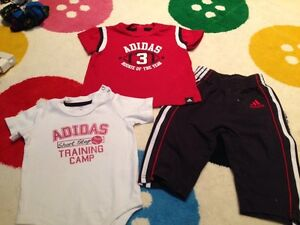 6 month Adidas 3 Piece Outfit