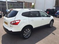 nissan qashqai + 2 7 seater for sale
