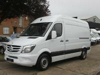 2014 14-REG Mercedes Benz Sprinter 2.1TD 313CDI MWB HIGH ROOF 3.5T. NEW SHAPE.