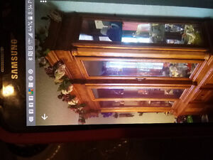 China cabinet and collectables