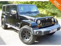 2010 60 JEEP WRANGLER 2.8 CRD SPORT UNLIMITED ULTIMATE 4D AUTO 174 BHP DIESEL