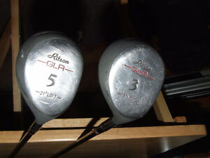 Ritson GLR 3 & 5 Fairway Woods (RH) - $5.00 FOR BOTH