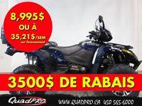 2014 Arctic Cat TRV 550 LIMITED EPS - 3500$ DE RABAIS 35,21$/SEM