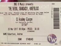 THE SHINS // GRANDADDY // HONEYBLOOD x 1 ticket for sale