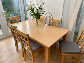Free Dining Table and Chairs - available 8th Oct