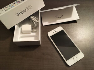 iphone 5s 16GB white, perfect condition
