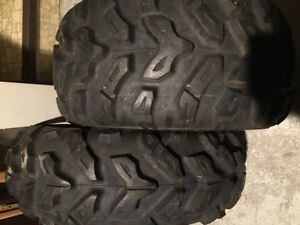Brand new. Polaris rzr tires. Maxxis 25/10-12 and 25/8/12 Edmonton Edmonton Area image 1