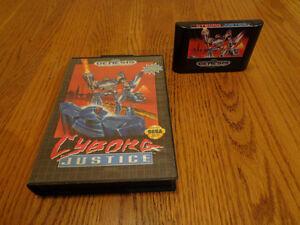 Cyborg Justice Sega Genesis