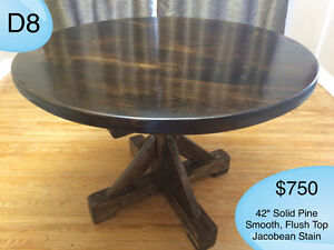 CUSTOM SOLID WOOD RUSTIC DINING TABLES, BENCHES AND MORE Kingston Kingston Area image 6