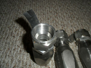 "Hydraulic Hose Fittings 1"" JIC Swival Reusable 316SS New Kitchener / Waterloo Kitchener Area image 1"