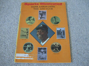 Sports Illustrated-1970 Hank Aaron Issue-Excellent condition