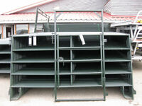 Corral Panels - 50' Round Pen - 5' Light Duty Panels with 4' Gat