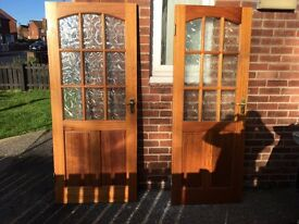 Do externals doors for sale £25 each or both £40.