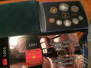 2001 National Ballet of Canada Proof Set