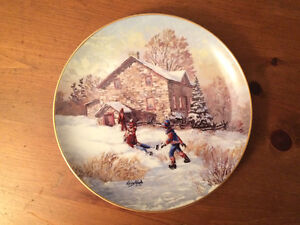 "Keirstead Collector Plate - ""New Skates"""