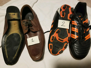 Shoes $5 each or $8 for both