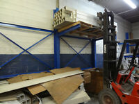 Shelving - free-standing, heavy-duty  cantilever supports