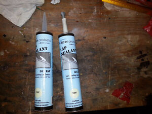 Dicor Self Levelling Sealant for RV Roofs color Ivory