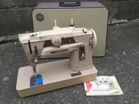 "Singer 401 sewing machine ""the best sewing machine ever made"" zig zag"