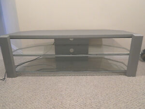 "TV Stand  Grey  -  Holds a 50"" + tv"
