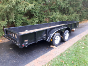16 Feet by 5 Feet Dual Axle Trailer