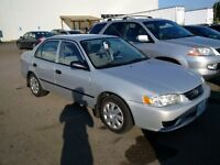 2001 Toyota Corolla Sedan - NEED GONE THIS WEEK