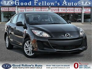 2012 Mazda MAZDA3 GREAT MILEAGE!!! GX MODEL, ALLOY