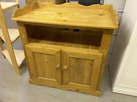 XMAS SALE NOW ON!! - Solid Pine Cupboard / Baby Changing Unit - Can Deliver For £19