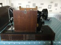 Vintage singer sewin machine