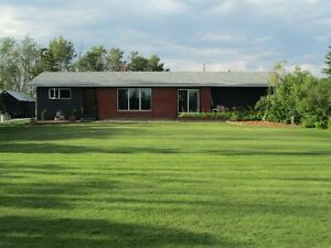 **PRICE REDUCED** 5 BEDROOM HOUSE WITH ACREAGE FOR SALE