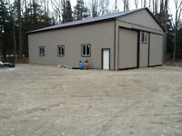 Land 2 1/4 acre with new barn