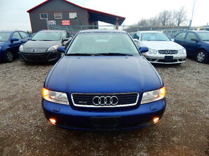2001 Audi A4 Quattro Luxury Sedan Mint Low miles No Rust! London Ontario image 6