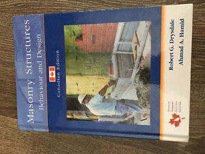 Masonry Structures Textbook (New) - Behaviour and Design