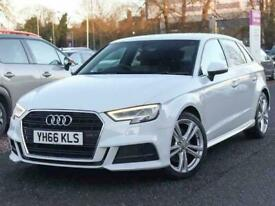 image for 2016 Audi A3 2.0 TFSI S Line 5dr S Tronic Auto Hatchback Petrol Automatic