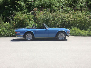 1974 TRIUMPH TR6 WITH OVERDRIVE-READY TO GO