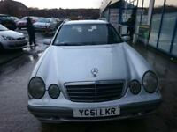 Mercedes-Benz E320 3.2TD auto CDI Elegance ESTATE - 2001 51-REG - 1 MONTHS MOT