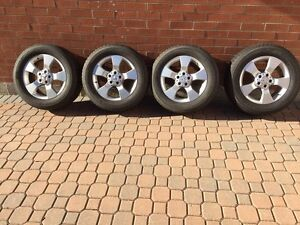 Winter Tires with OEM RIMS for Mercedes Benz GLK