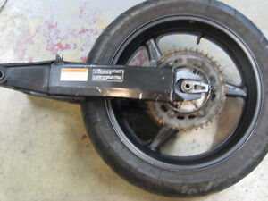 2002 Honda CBR600 F4I Complete rear end