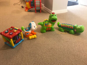Vtech Kids Toys - Pup, AlphaGator, Cube and Dino