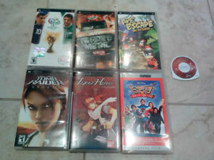 SONY PLAYSTATION PORTABLE PSP VIDEO GAMES AND MOVIE MINT