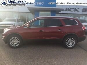 2011 Buick Enclave CXL   CLOTH! HEATED SEATS! BENCH SEATS!