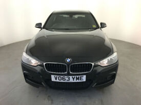 2013 63 BMW 318D M SPORT DIESEL 4 DOOR SALOON 1 OWNER SERVICE HISTORY FINANCE PX
