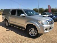 2013 Toyota HI-LUX INVINCIBLE 4X4 D-4D DCB Auto Pick Up Diesel Automatic