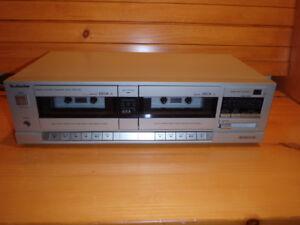 Lecteur enregistreur de cassette double