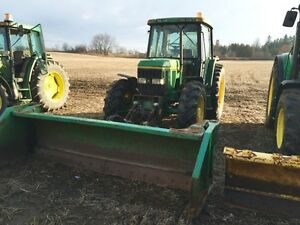 John Deere 6400 with Horst snow Plow