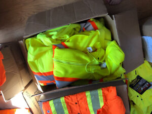 High vis brand new clothing