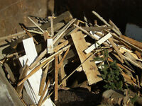 Service de bon débarras: débris,objets encombrants et autres..